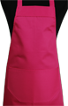 Detail foto van Hobbyschort met zak in 2e - Fuchsia