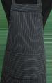 Detail foto van Hobbyschort met zak in 2e - Krijtstreep smal