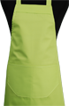 Detail foto van Hobbyschort met zak in 2e - Lime