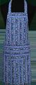 Detail foto van Hobbyschort bont met zak in 2e gedeeld - Dessin 1