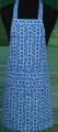 Detail foto van Hobbyschort bont met zak in 2e gedeeld - Dessin 5