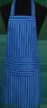 Detail foto van Hobbyschort streep met zak in 2e gedeeld - Dessin 11