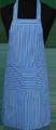 Detail foto van Hobbyschort streep met zak in 2e gedeeld - Dessin 12