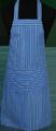 Detail foto van Hobbyschort streep met zak in 2e gedeeld - Dessin 7