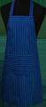 Detail foto van Hobbyschort streep met zak in 2e gedeeld - Dessin 8