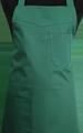 Detail foto van Schoenmakersschort 2 zakken - Bottle groen