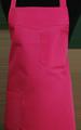 Detail foto van Schoenmakersschort 2 zakken - Fuchsia