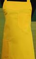 Detail foto van Schoenmakersschort 2 zakken - Geel