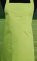 Detail foto van Schoenmakersschort 2 zakken - Lime
