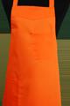 Detail foto van Schoenmakersschort 2 zakken - Oranje