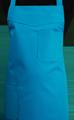 Detail foto van Schoenmakersschort 2 zakken - Turquoise