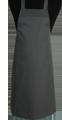 Detail foto van BBQ schort zonder zak - Antraciet