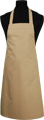 Detail foto van BBQ schort zonder zak - Camel