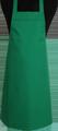 Detail foto van BBQ schort zonder zak - Licht groen