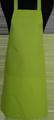 Detail foto van BBQ schort zonder zak - Lime