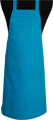 Detail foto van BBQ schort zonder zak - Turqoise