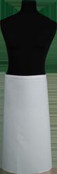 Paspop foto van Koksloof wit keper met doorlopende banden
