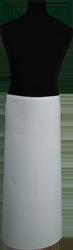 Paspop foto van Franse sloof wit keper met doorlopende banden