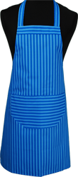 Paspop foto van Hobbyschort streep met zak in 2e gedeeld