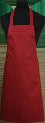 Paspop foto van BBQ schort zonder zak